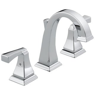 Delta Dryden Two Handle Widespread Lavatory Faucet 3551LF Chrome