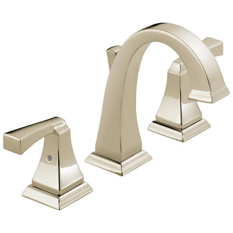Delta Dryden Widespread Faucet in Polished Nickel