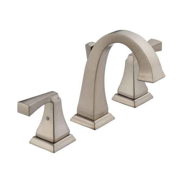 delta dryden two handle widespread lavatory faucet 3551lf
