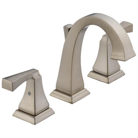 Delta Dryden Widespread Faucet in Brilliance Stainless