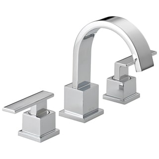 Delta Vero Double-handle Widespread Lavatory Faucet in Chrome