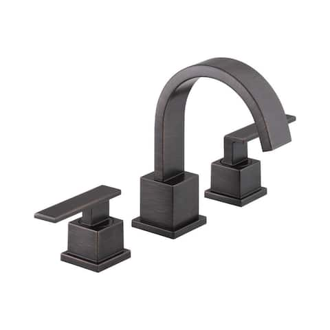Delta Vero Two Handle Widespread Lavatory Faucet 3553LF-RB Venetian Bronze