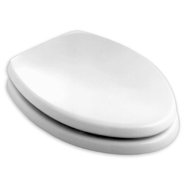 American Standard Champion Elongated White Wood Toilet