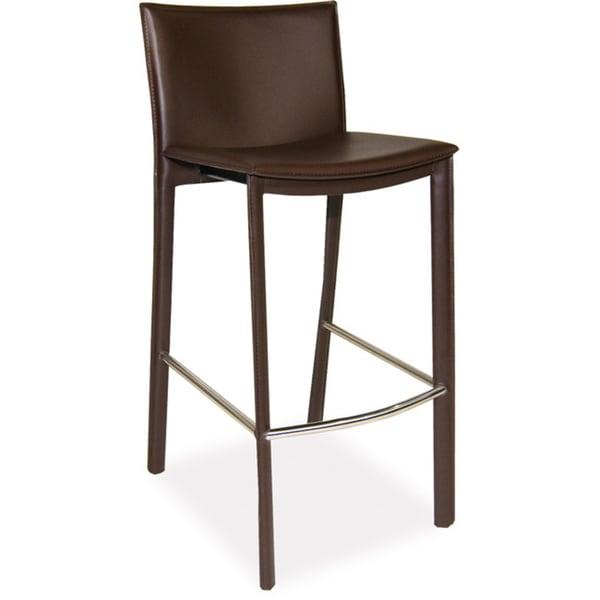 modern leather bar stools. Aurelle Home Carisma Modern Leather Bar Stool Stools