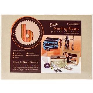 Papermania Bare Basics Nesting Boxes 3/Pkg-Rectangle|https://ak1.ostkcdn.com/images/products/9531005/P16711893.jpg?_ostk_perf_=percv&impolicy=medium