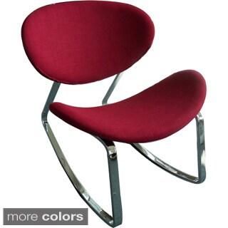 Aurelle Home Mid Century Rocking Chair (Set of 2)