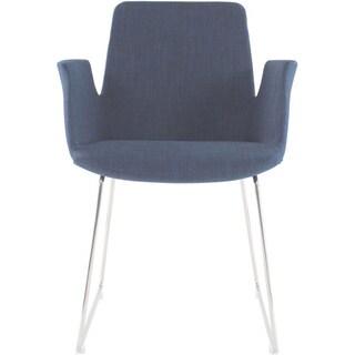 Aurelle Home Angie Blue Arm Chair