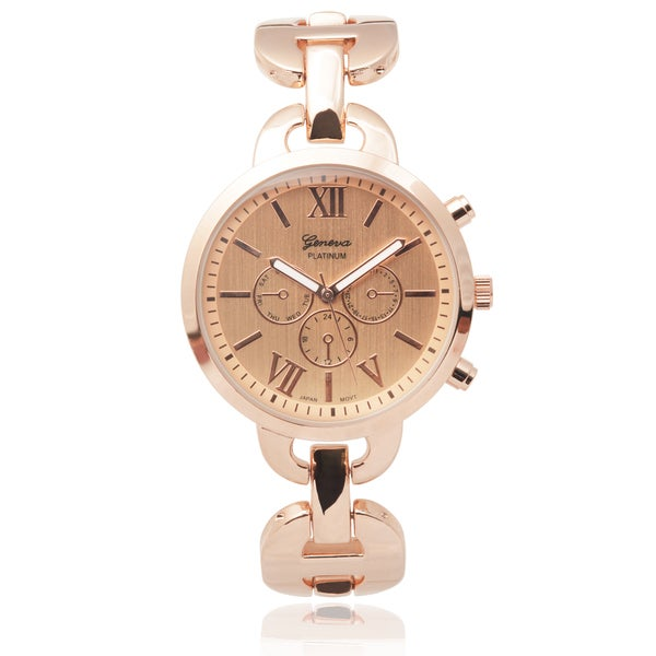 Geneva Platinum Women's Bracelet Watch