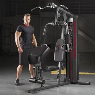 Marcy 150-pound Stack Home Gym|https://ak1.ostkcdn.com/images/products/9531116/P16710421.jpg?impolicy=medium