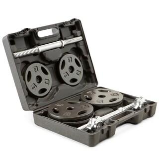 Marcy Eco Iron 40-pound Adjustable Dumbbell Set