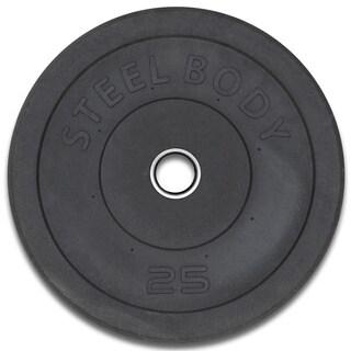 Steelbody 25-Pound Olympic Plate|https://ak1.ostkcdn.com/images/products/9531120/P16710425.jpg?_ostk_perf_=percv&impolicy=medium