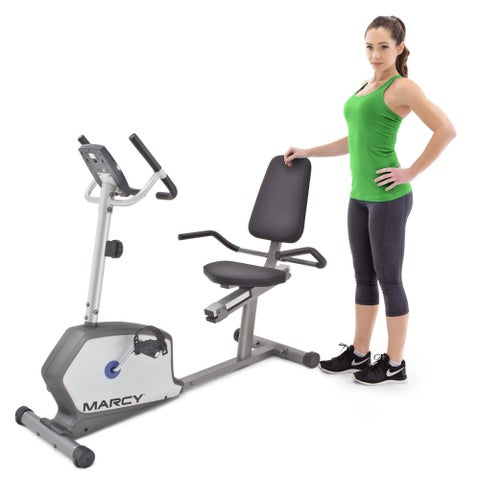 Marcy Recumbent Magnetic Cycle with Heart Rate Monitor