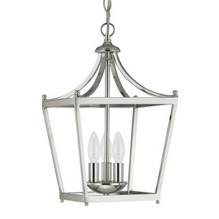 Capital Lighting Stanton Collection 3-light Polished Nickel Pendant