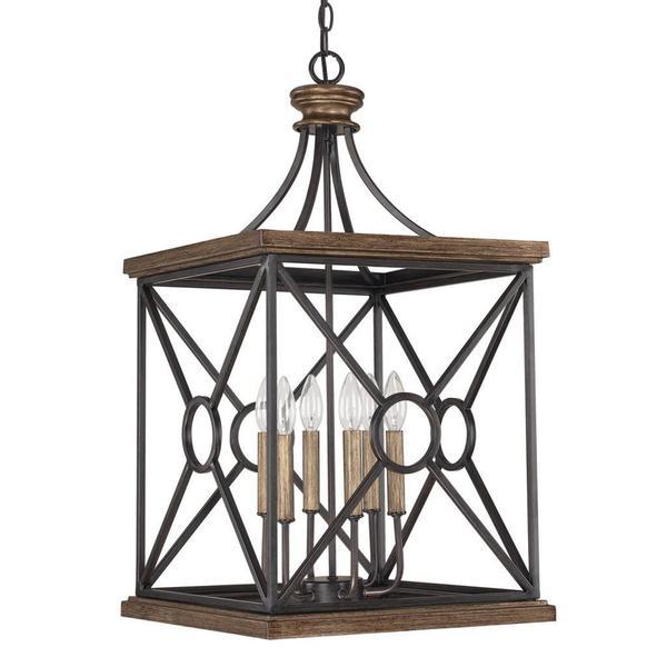 Foyer Lighting Overstock : Shop capital lighting landon collection light surry