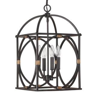 Capital Lighting Traditional Surry 4-light Foyer Pendant Light