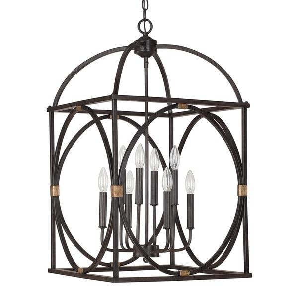 Foyer Lighting Overstock : Capital lighting traditional surry light foyer pendant