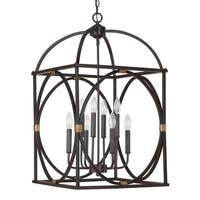 Capital Lighting Traditional Surry 8-light Foyer Pendant