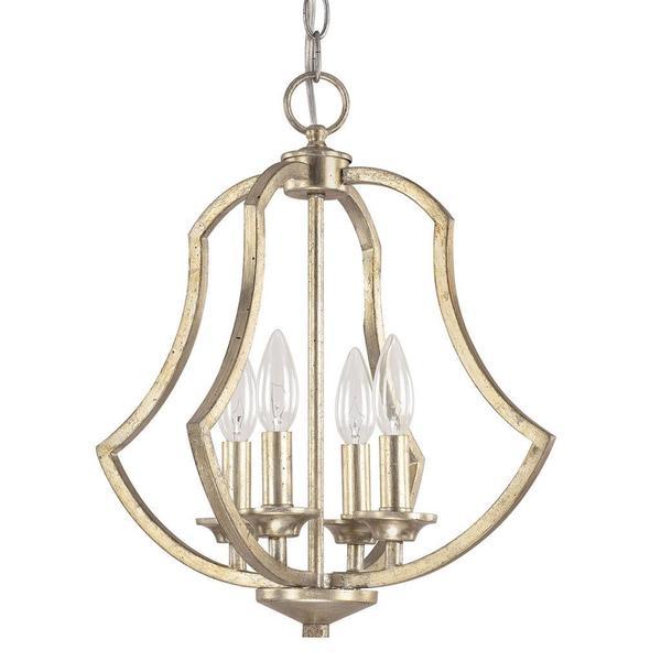 Foyer Lighting Overstock : Capital lighting sydney collection winter gold light