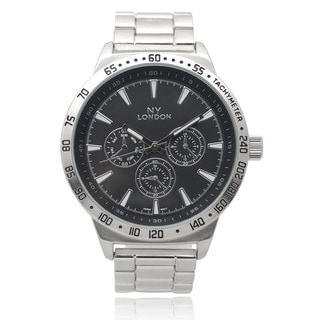 GP London Men's Metallic Link Watch
