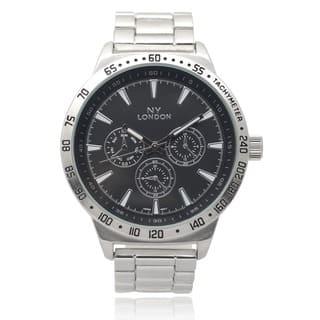 GP London Men's Metallic Link Watch|https://ak1.ostkcdn.com/images/products/9531191/P16710625.jpg?impolicy=medium