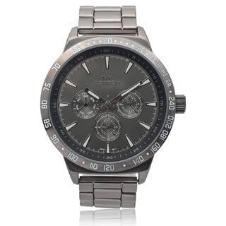 GP London Men's Metallic Link Watch|https://ak1.ostkcdn.com/images/products/9531193/P16710627.jpg?impolicy=medium