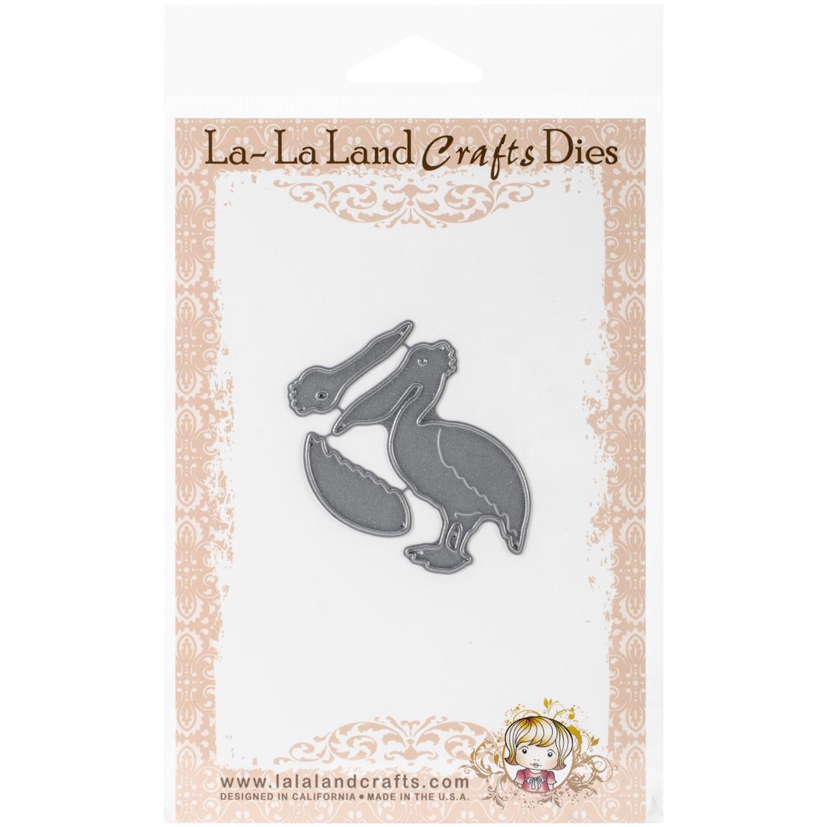 La-La Land Crafts La-La Land Dies 3/Pkg-Pelican (Pelican)...