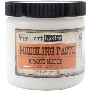 Art Basics Modeling Paste 16oz-Opaque Matte