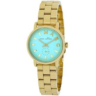 Marc Jacobs Women's MBM3284 Baker Mini Mint Dial Goldtone Watch
