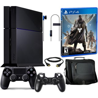 PlayStation 4 500GB Bundle with Destiny Game & Accessories