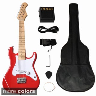 Electric Guitar 32-inch Complete Set with 5W Amplifier