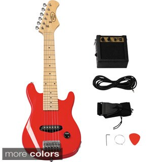 30-inch Electric Guitar Set with 5-watt Amplifier (2 options available)
