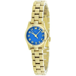 Marc Jacobs Women's MBM3310 Henry Dinky Blue Dial Watch