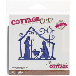 CottageCutz Elites Die -Nativity