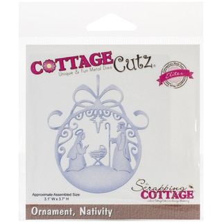 CottageCutz Elites Die -Nativity Ornament