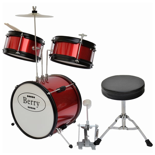 Berry Toys Kids Junior Drum Set