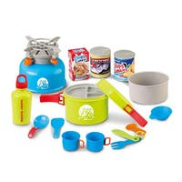 Berry Toys Little Explorer 15-piece Camping Cooker Play Set