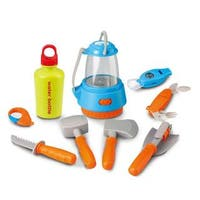 Berry Toys Little Explorer 9-piece Essential Camping Play Set