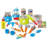 Berry Toys Little Explorer 21-Piece Complete Camping Play Set