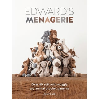 David & Charles Books-Edward's Menagerie: Crochet Animals