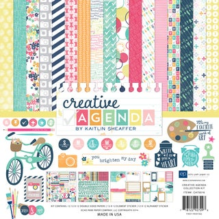 "Echo Park Collection Kit 12""X12""-Creative Agenda"