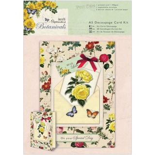 Papermania Botanicals A5 Decoupage Card Kit