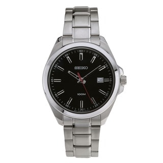 Seiko SUR061 Men's 100M Date Bracelet Watch