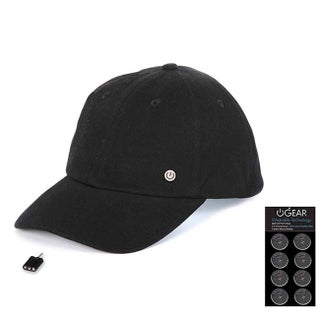 PowerGear Coin Battery Hat with Attachable LED Light (Option: Black)