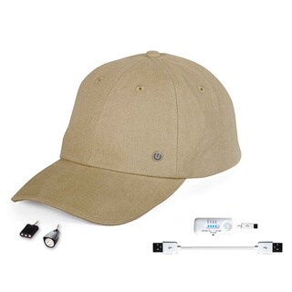 PowerGear Rechargeable Hat with Attachable LED Lights