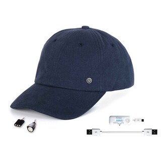PowerGear Cell Phone Charging Hat with Attachable LED Lights