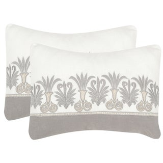 Safavieh Royal Palm Sterling 12 x 20-inch Throw Pillows (Set of 2)