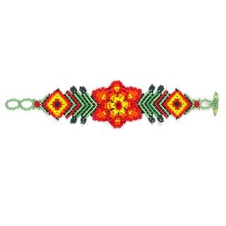 Handmade Spring Flower Bracelet (Guatemala)
