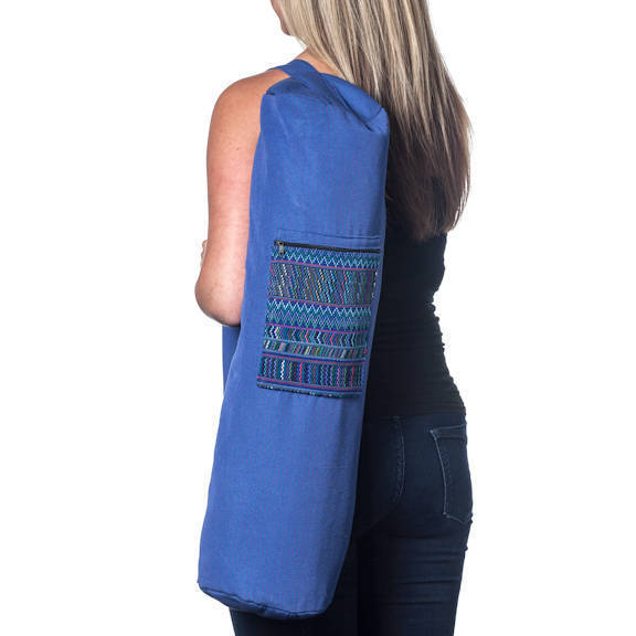 Handmade Yoga Mat Bag Guatemala