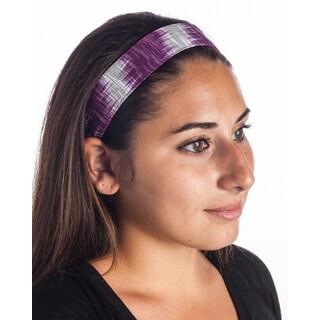 Hand-woven Berry Ikat Headband (Guatemala)