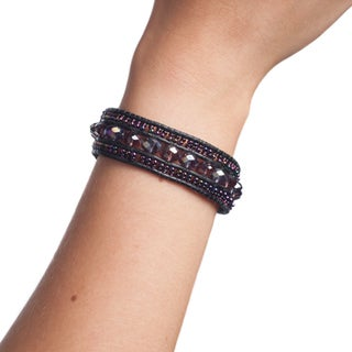 Handmade Jewel Bracelet with Magnetic Closure (Guatemala)